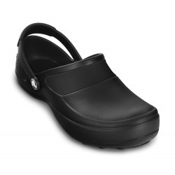 CROCS MERCY WORK BLACK & BLACK