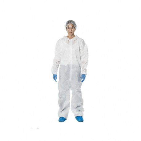BUZO COVERALL V- CAT I CE POLIPROPILENO